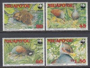 Tonga Niuafo'ou Birds MNH VF