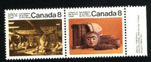 Can #570-71    Pair   Mint NH  VF 1974 PD