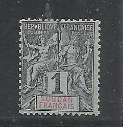 French Sudan #3 mint cv $1.60