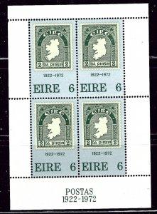 Ireland 326a MNH 1972 Stamp Anniversary S/S    (ap2541)