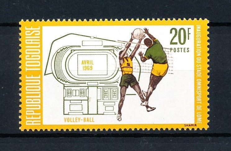 [92028] Togo 1969 Sport Volleyball From Set MNH