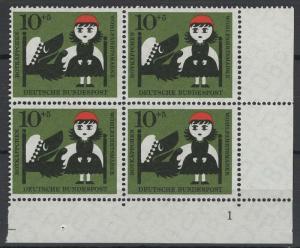 Germany Bund Scott # B373, mint nh, b/4