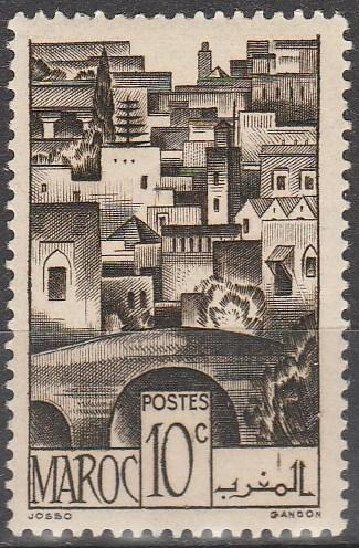 French Morocco #221 F-VF Unused (V4170)