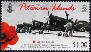 Pitcairn Islands. 2015? $1 Fine Used