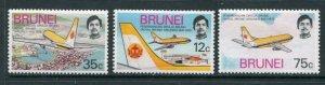 Brunei #222-4 Mint