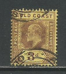 Gold Coast   #60  Used  (1909)  c.v. $0.65