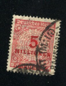 Germany #285 used VF 1923 PD