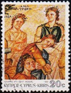 Cyprus. 1989 20c S.G.765 Fine Used