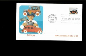 2002 FDC Antique Toys Rochester NY