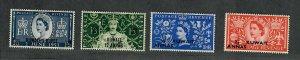 Kuwait Sc#113-116 M/NH/VF, Cv. $16
