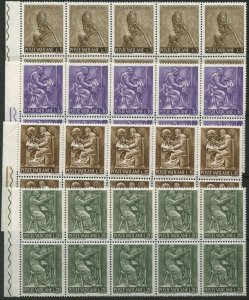 VATICAN Sc#423-432, E17-18 1966 Craftsmen Lot of 20 Complete Sets Mint OG NH