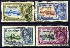 Kenya, Uganda & Tanganyika 1935 KG5 Silver Jubilee set of...