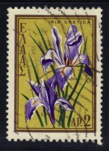 Greece #629 Iris, used (0.20)