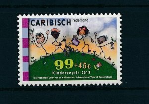 [CA034] Caribbean Netherlands 2012 Childrens Welfare Stamp MNH