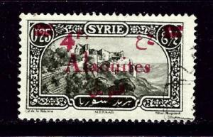 Alaouittes 48 Used 1928 overprint on stamp of Syria
