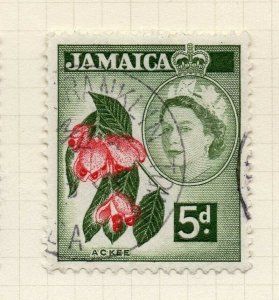 Jamaica 1956 Early Issue Fine Used 5d. 283894
