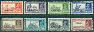 India Chamba #74-81 Part Set  Mint VF LH  Scott $159.00