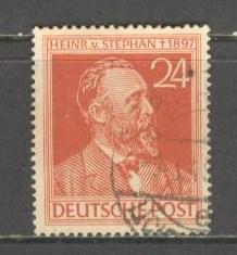 GERMANY BUND Sc# 578 USED FVF Heinrich von Stephan