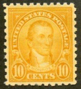 United States Scott 591 - Unused VF-XFVLHOG - SCV $45.00