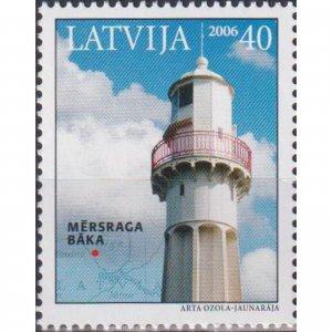 Latvia 2006 Lighthouses of Latvia  (MNH)  - Lighthouses