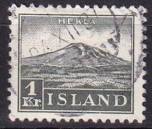 Iceland #194  F-VF Used