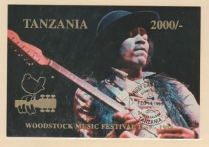 Tanzania Scott #1311 Stamps - Mint NH Souvenir Sheet - First Day of Issue Cancel