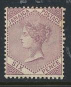 Jamaica  SG 52  Mint Hinged - see scan and details