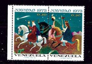 Venezuela 1055a MNH 1973 Christmas   (P76)