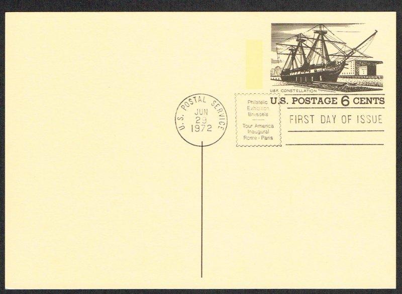 United States FDC Scott UX61