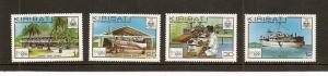 Kiribati 352-355 MNH