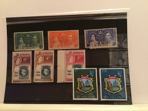 St Helena mounted mint and mint never hinged  stamps R21755