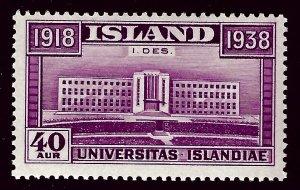 Iceland Attractive Sc#211 MNH F-VF SCV $12.50...nice bargain!!