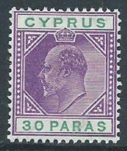 Cyprus, Sc #39, 30pa MH