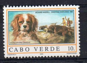 CAPE VERDE - DOGS - CAVALIER KING CHARLES - 1995 - 10. -