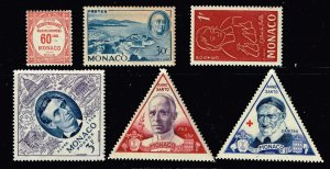 MONACO STAMP MINT Stamps collection lot