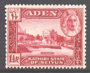 Aden Seiyun Scott 4 - SG4, 1942 1.1/2a MNH**