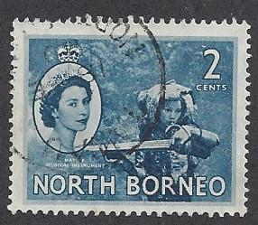 North Borneo Scott # 262       Used