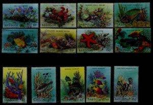 Barbuda 877-89 MNH Fishes/Marine life SCV13.10