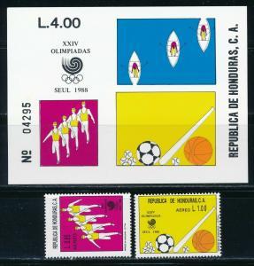 Honduras - Seoul Olympic Games Sports Set MNH (1988)