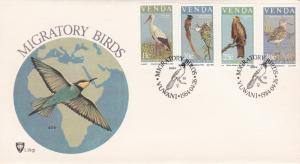 Venda 1984 MIgratory Birds FDC
