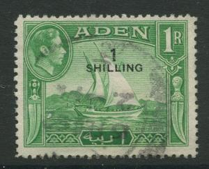 STAMP STATION PERTH Aden #43 - KGVI Definitive Overprint 1951 Used CV$0.30.