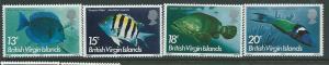 British Virgin Islands #291-294   (MNH) CV$3.10