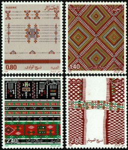 Algeria #797-800  MNH - Tapestries (1985)