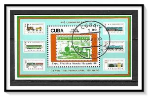 Caribbean #3125 FIP Congress Souvenir Sheet CTO