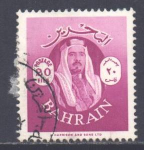 Bahrain Scott 144 - SG142, 1966 Sheik 20f used