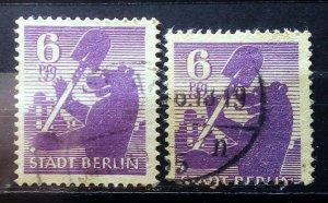 Germany Berlin Mi 2 Perforation Error