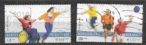 Germany 2001 used semi-Postal