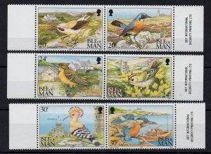 ISLE OF MAN - 1994 - BIRDS - BIRDS FROM THE ISLE OF MAN -