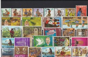 zambia stamps   ref r12556