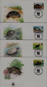 Slovenia 247 FDC WWF-96/Turtles